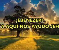 Imágenes cristianas de fin de año hasta aquí nos ayudó Jehová