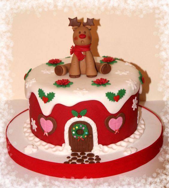 Ya has preparado pasteles navideños en tu casa, bueno es momento de comenzar y para eso te mostramos estos Imágenes de Pasteles navideños