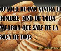 Imágenes de no solo de pan vivirá el hombre