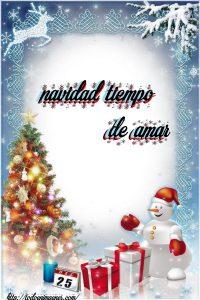 Navidad tiempo de amar
