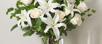 Imágenes de tipos de ramos de rosas para primer sacramento lindos
