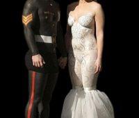 6 Imágenes de vestidos de novias raros