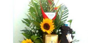 Imágenes de arreglos florales para papá bonitos