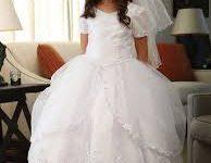 Vestido blanco para primera comunión