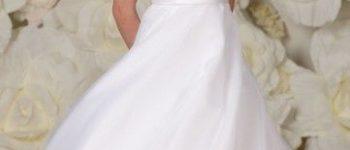 Vestido corto blanco para primera comunión