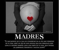 Imágenes con mensajes para una amiga  embarazada