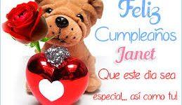 Imágenes de Feliz Cumpleaños Jeannet para dedicar