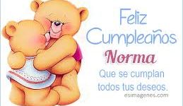Imágenes de Feliz cumpleaños Norma para felicitar