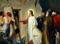 Imágenes de Jesús con lázaro resucitado
