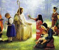 Imágenes de Jesús con niños