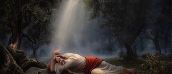 Imágenes de Jesús llorando en el huertoGetsemaní