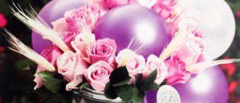Imagenes de decoracion con globos para bautizo de una niña