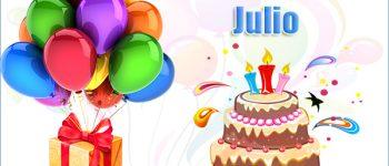 Imágenes de feliz cumpleaños Julio para compartir
