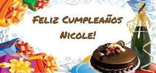 Imágenes de feliz cumpleaños Nicole para dedicar