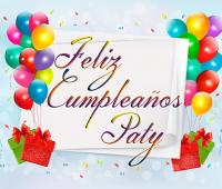 Imágenes de feliz cumpleaños paty