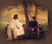 Imágenes de Jesús con jóvenes