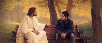Imágenes de Jesús con jóvenes cristianos