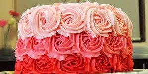 Imágenes de pasteles de rosas para descargar