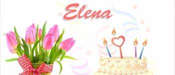 Imágenes lindas de feliz cumpleaños Elena para compartir