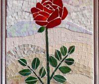 Imágenes Mosaicos de rosas