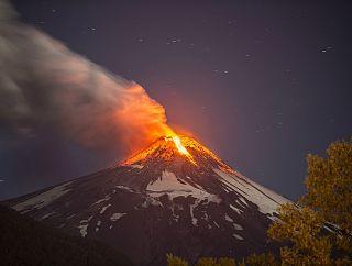 El activo Volcán Villarrica