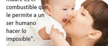 Imágenes con frases para una madre soltera