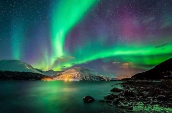Una aurora polar