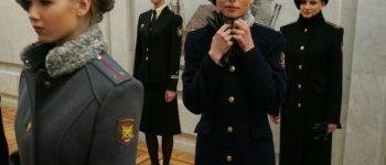 Imágenes de mujeres militares rusas