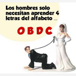 Imagen de recién casado con frases