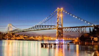 Puente Hercílio Luz de brasil