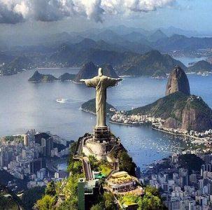 El cristo redentor de brasil