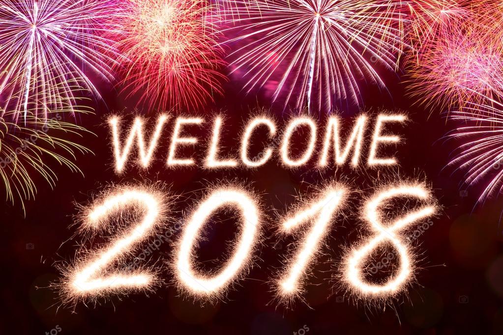 Imágenes de bienvenido año nuevo 2018