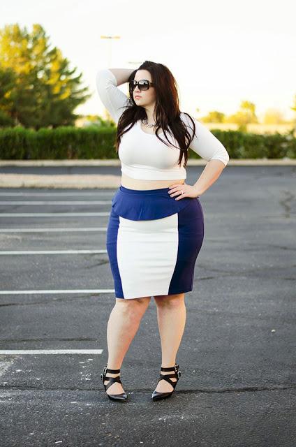 ceab9a055 Imágenes de estilos de faldas para gorditas pegadas | Descargar ...