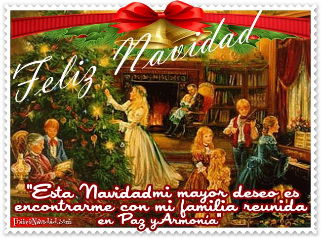 Imágenes de Feliz navidad familia