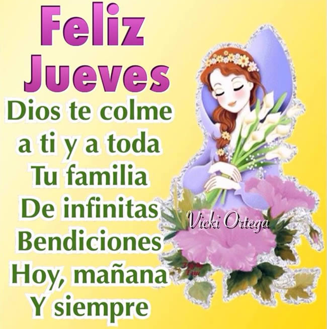 Imágenes De Buenos Días Feliz Jueves Dios Te Bendiga Descargar