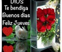 Imágenes de buenos días feliz jueves dios te bendiga