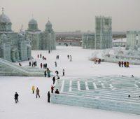 Imágenes de la Ciudad de Hielo de china
