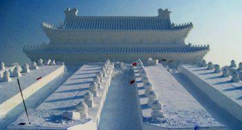 edificio de hielo