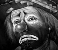 Imágenes de payasos tristes para dibujar