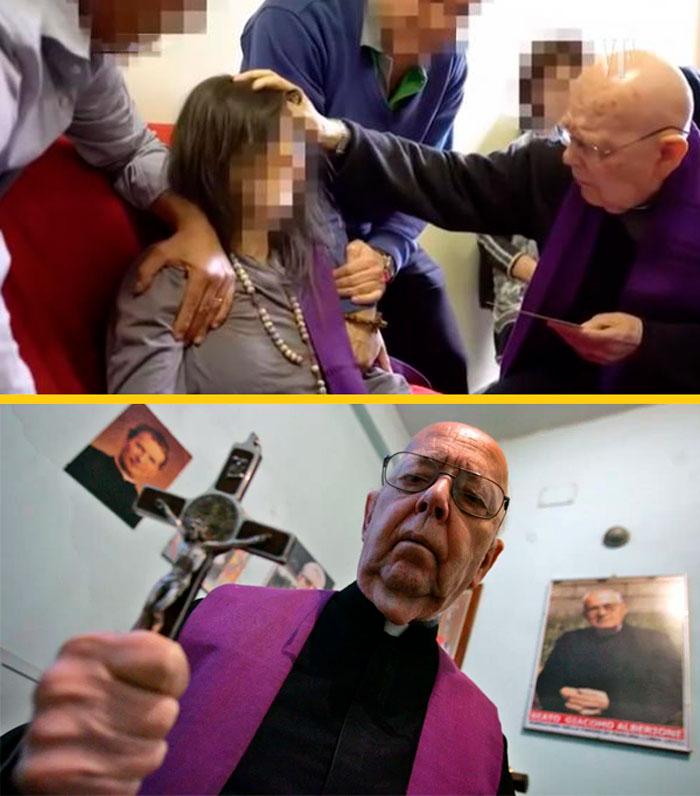 Sacerdote en el Vaticano